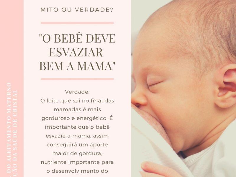 Foto de capa da notícia: Semana Mundial do Aleitamento Materno