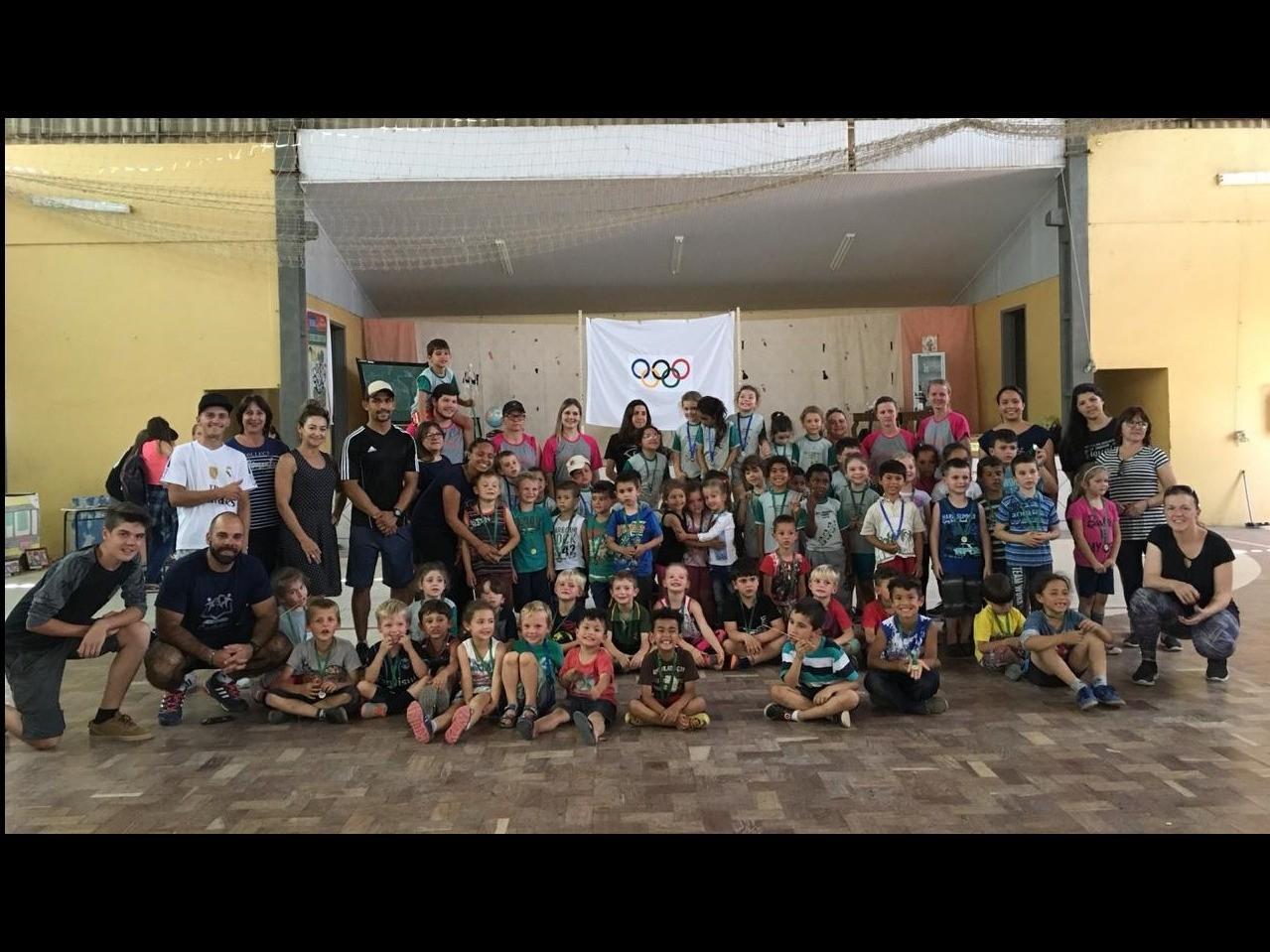 Foto de capa da notícia: Olimpíadas no Escola Otto Becker