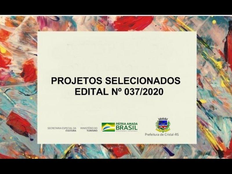 Foto de capa da notícia: Projetos classificados pelo  Edital 037/2020