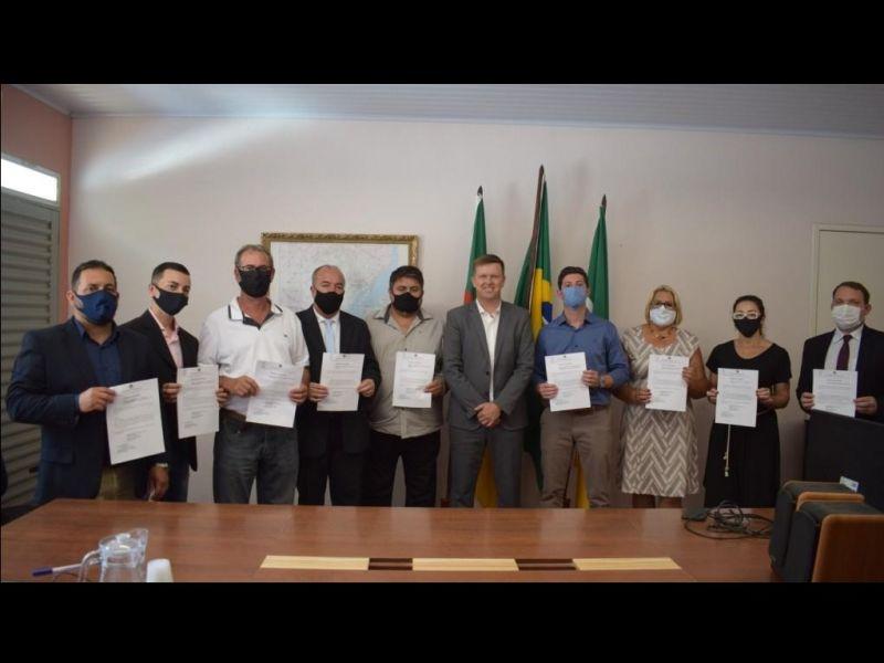 Foto de capa da notícia: Posse dos Secretários Municipais