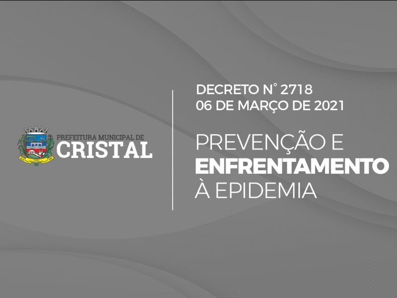 Foto de capa da notícia: Novo Decreto é publicado sobre as medidas de prevenção