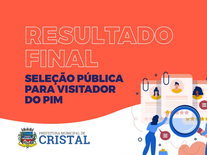 Foto de capa da notícia: Publicado o edital com o resultado final da Seleção Pública do PIM