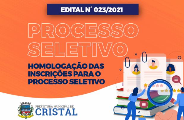 Foto de capa da notícia: Homologação final das inscrições para o Processo Seletivo para auxiliar de serviços gerais
