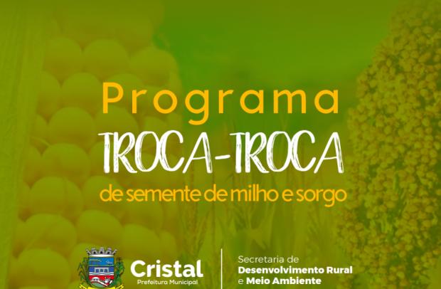 Foto de capa da notícia: Programa Troca-Troca de Sementes