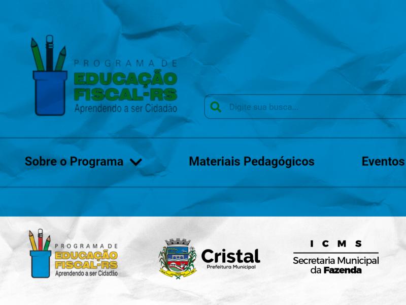 Foto de capa da notícia: Programa de Educação Fiscal Estadual lança seu novo site