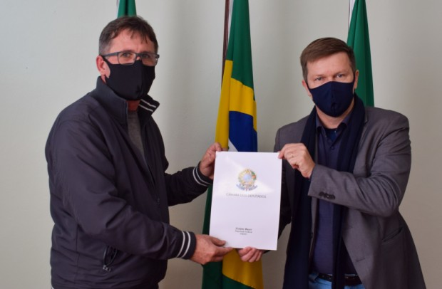 Foto de capa da notícia: Município recebe R$150 mil em emenda parlamentar para a Secretaria da Saúde