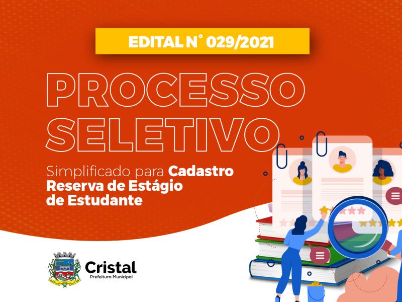 Foto de capa da notícia: Processo Seletivo Simplificado abre vagas para estagiários
