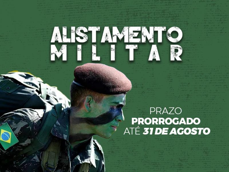 Foto de capa da notícia: Prazo para o Alistamento Militar foi prorrogado até 31 de Agosto