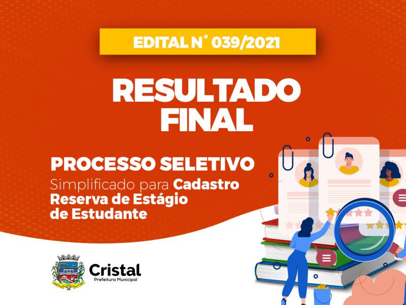 Foto de capa da notícia: Resultado final do Processo Seletivo de estágio de estudantes é publicado