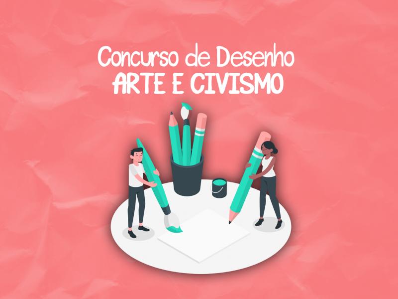 """Foto de capa da notícia: Concurso de Desenho """"Arte e Civismo"""""""