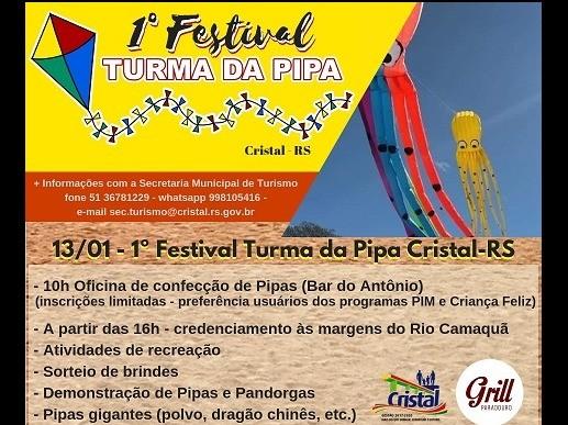 Foto de capa da notícia: 1° Festival Turma da Pipa