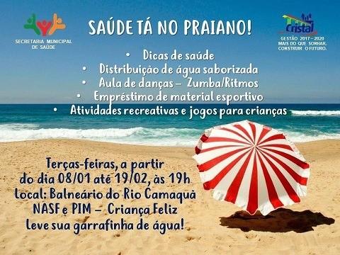 Foto de capa da notícia: Saúde tá no Praiano