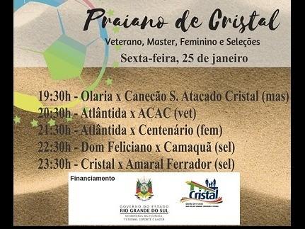 Foto de capa da notícia: Praiano de Cristal