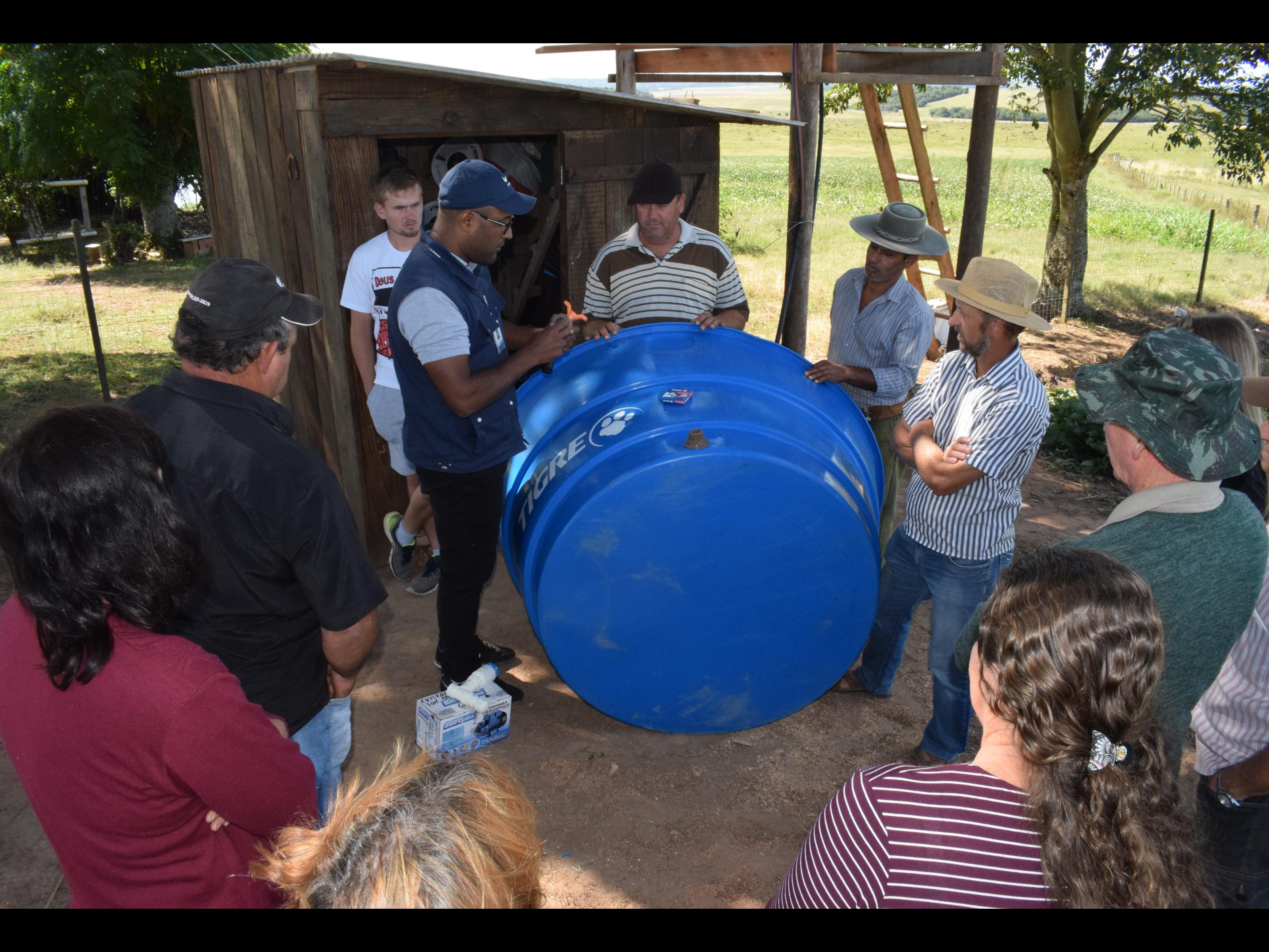 Foto de capa da notícia: Kits de Irrigação