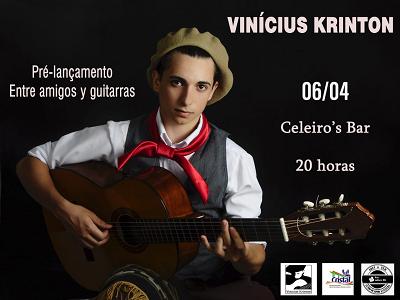 Foto de capa da notícia: Músico Cristalense lança CD autoral