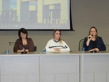 Foto de capa da notícia: Prefeita realiza palestra em Universidade de Campo Grande