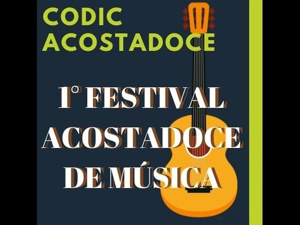 Foto de capa da notícia: 1º Festival ACOSTADOCE de Música