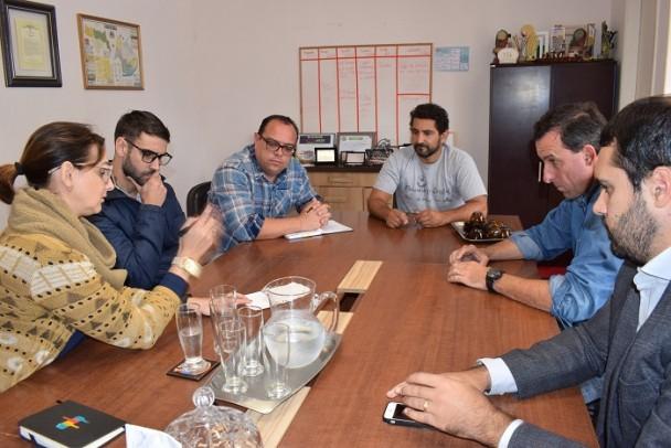 Foto de capa da notícia: Reunião com a Ecosul e Pelotense
