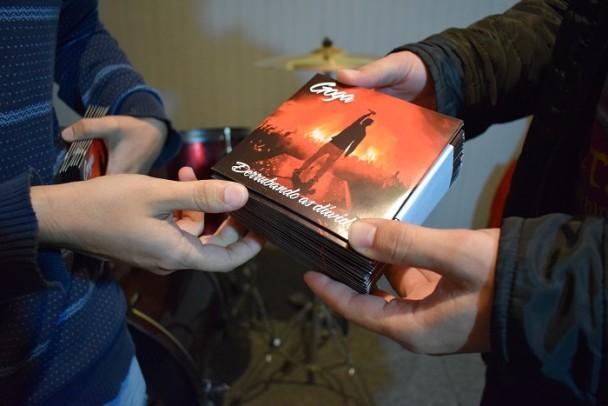 Foto de capa da notícia: EP finalizado pelo Pró-Cultura -RS