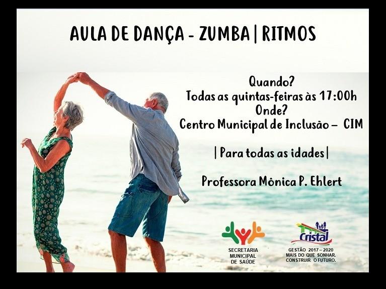 Foto de capa da notícia: Aula de Dança - Zumba/Ritmos