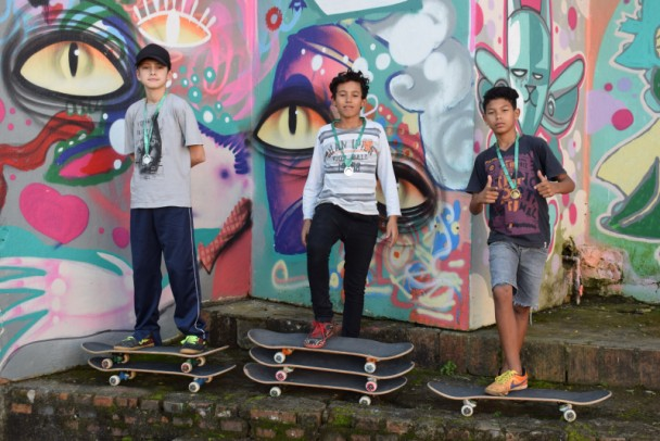 Foto de capa da notícia: Mini Campeonato de Skate