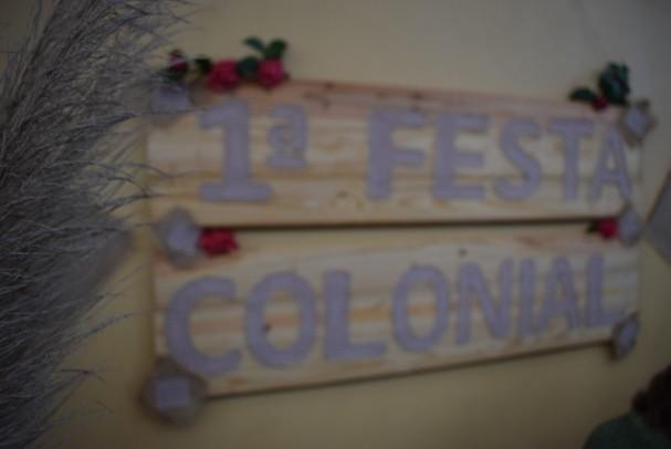 Foto de capa da notícia: 1ª Festa Colonial