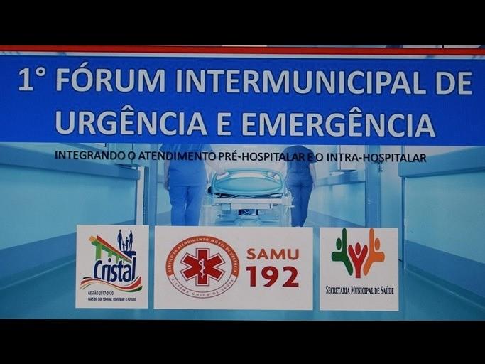 Foto de capa da notícia: 1° Fórum Intermunicipal de Urgência e Emergência