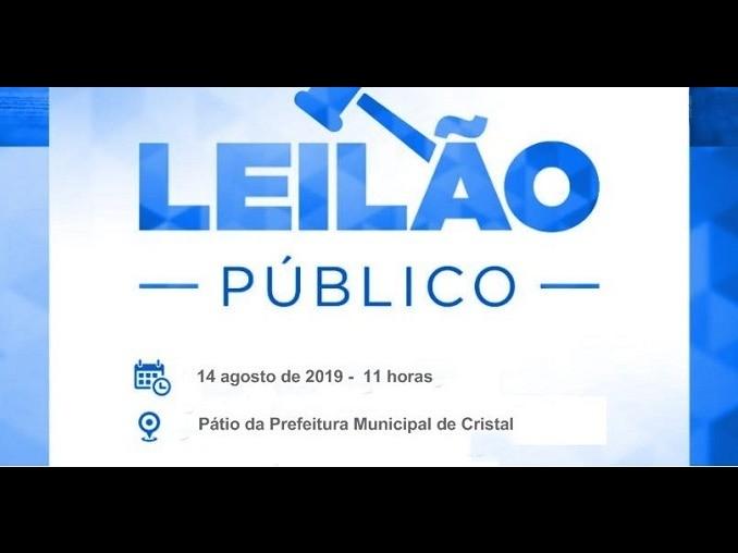 Foto de capa da notícia: Leilão Público