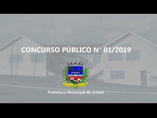 Foto de capa da notícia: CONCURSO PÚBLICO Nº 01/2019