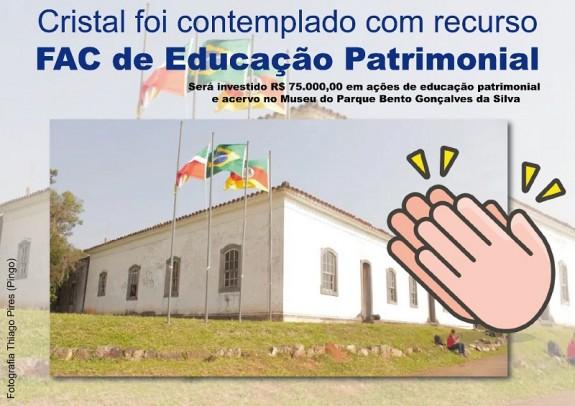 Foto de capa da notícia: Parque Bento Gonçalves receberá recurso de R$ 75 mil reais