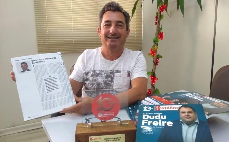 Foto de capa da notícia Administração de Ipê recebe Prêmio Destaque Estadual 2019