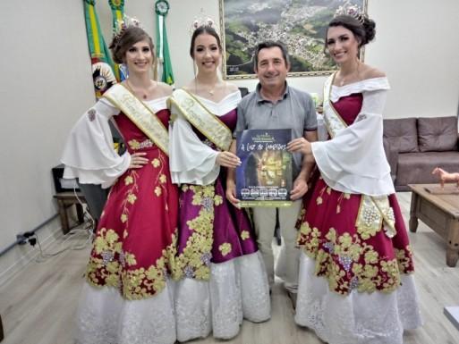 Foto de capa da notícia: Comitiva da 14ª La Prima Vendemmia visita município de Ipê