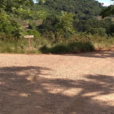 Foto de capa da notícia: Atenção – Desvio na estrada Delvino Magro