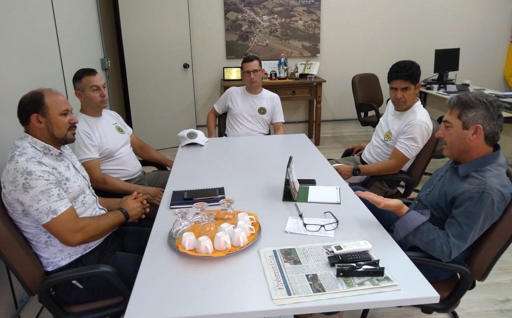 Foto de capa da notícia Novo comando da Brigada Militar em Ipê