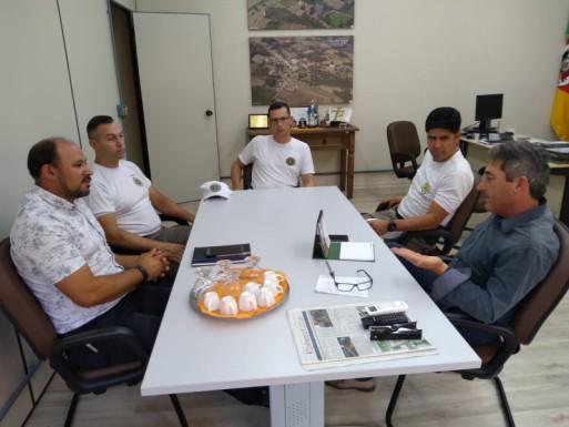 Foto de capa da notícia: Novo comando da Brigada Militar em Ipê