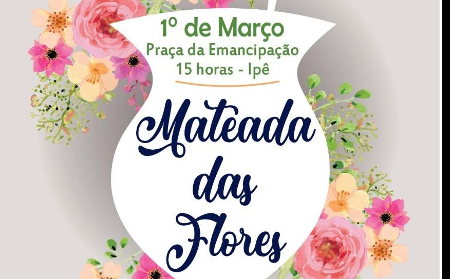 """Foto de capa da notícia Ipê realiza a """"Mateada das Flores"""""""