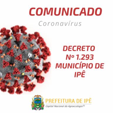 Foto de capa da notícia: Ipê emite decreto com orientações para evitar a disseminação do COVID-19