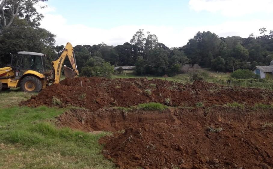 Foto de capa da notícia Patrulha agrícola atuando na limpeza e escavação de silos