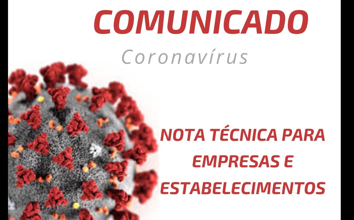 Foto de capa da notícia Secretaria de Saúde e Assistência Social divulga nota técnica para empresas e estabelecimentos