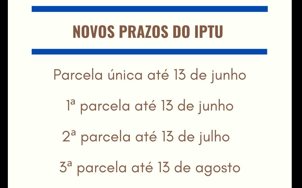 Foto de capa da notícia Administração de Ipê prorroga prazo do IPTU e ISS