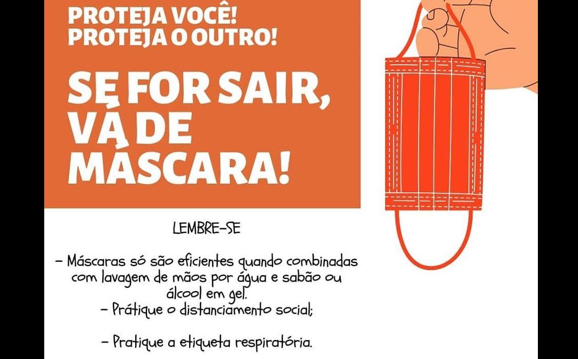 Foto de capa da notícia Uso de máscaras em locais públicos passa a ser obrigatório para ipeenses.