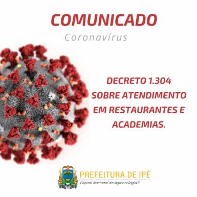 Foto de capa da notícia: Administração de Ipê publica novo decreto