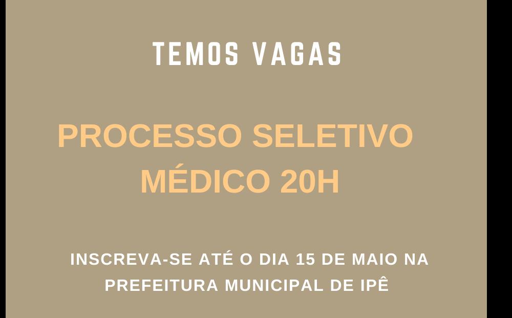 Foto de capa da notícia Prefeitura de Ipê publica edital para processo seletivo