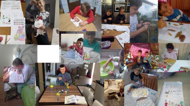 Foto de capa da notícia: Escolas municipais de Ipê realizam atividades com alunos a distância