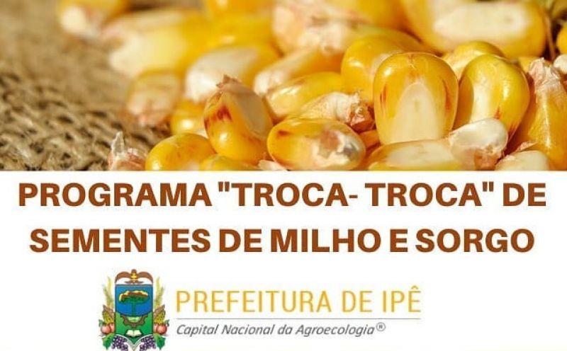 Foto de capa da notícia Informe sobre procedimento para ressarcimento dos valores do programa troca-troca de sementes de milho e sorgo