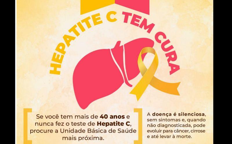 Foto de capa da notícia JULHO AMARELO - Mês de Conscientização das Hepatites Virais