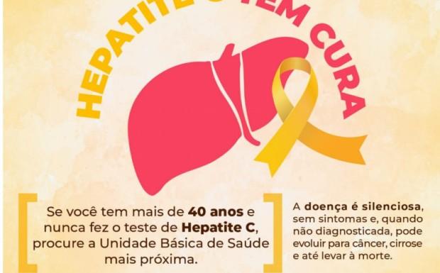 Foto de capa da notícia: JULHO AMARELO - Mês de Conscientização das Hepatites Virais