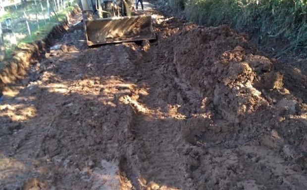 Foto de capa da notícia: Estragos devido ao grande volume de chuvas