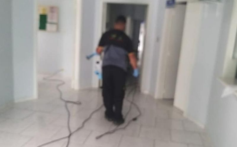 Foto de capa da notícia: UBS de Ipê passaram por processo de sanitização e desinfecção