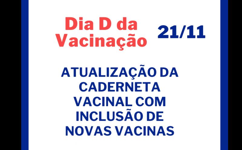 Foto de capa da notícia Atenção para o Dia D da Vacinação